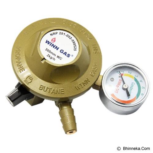 WINN GAS Regulator [W118M] - Regulator & Selang Kompor Gas
